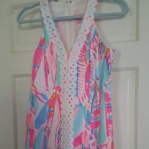 Lilly Pulitzer multi color dress